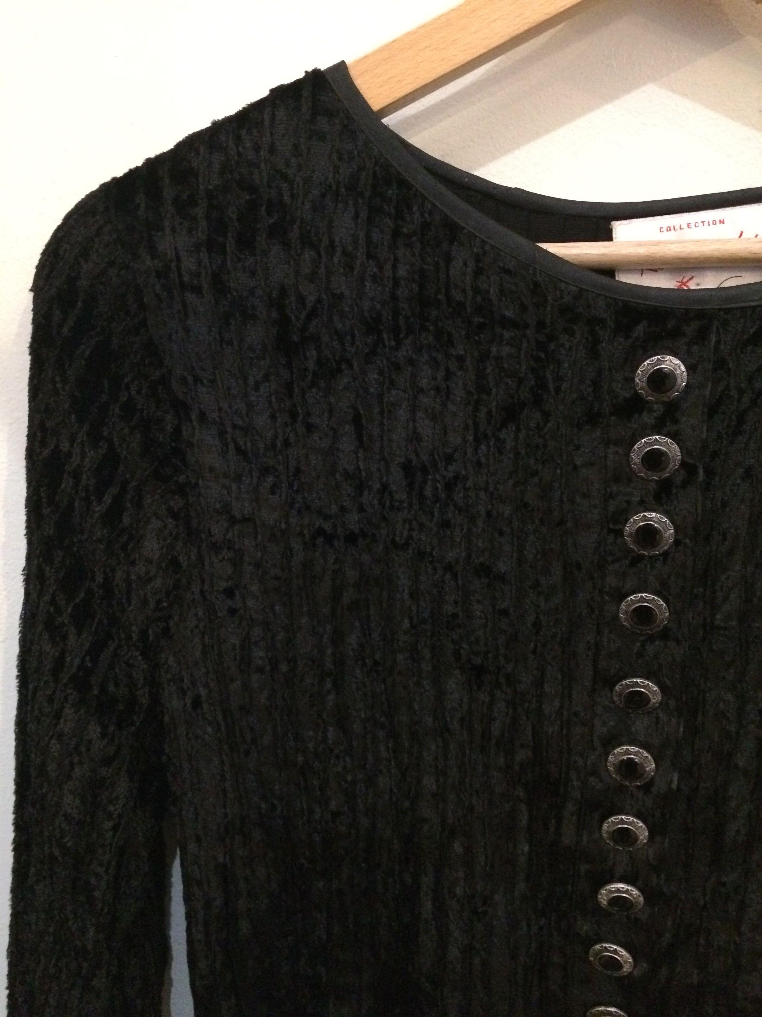 Robes - Robe en velours
