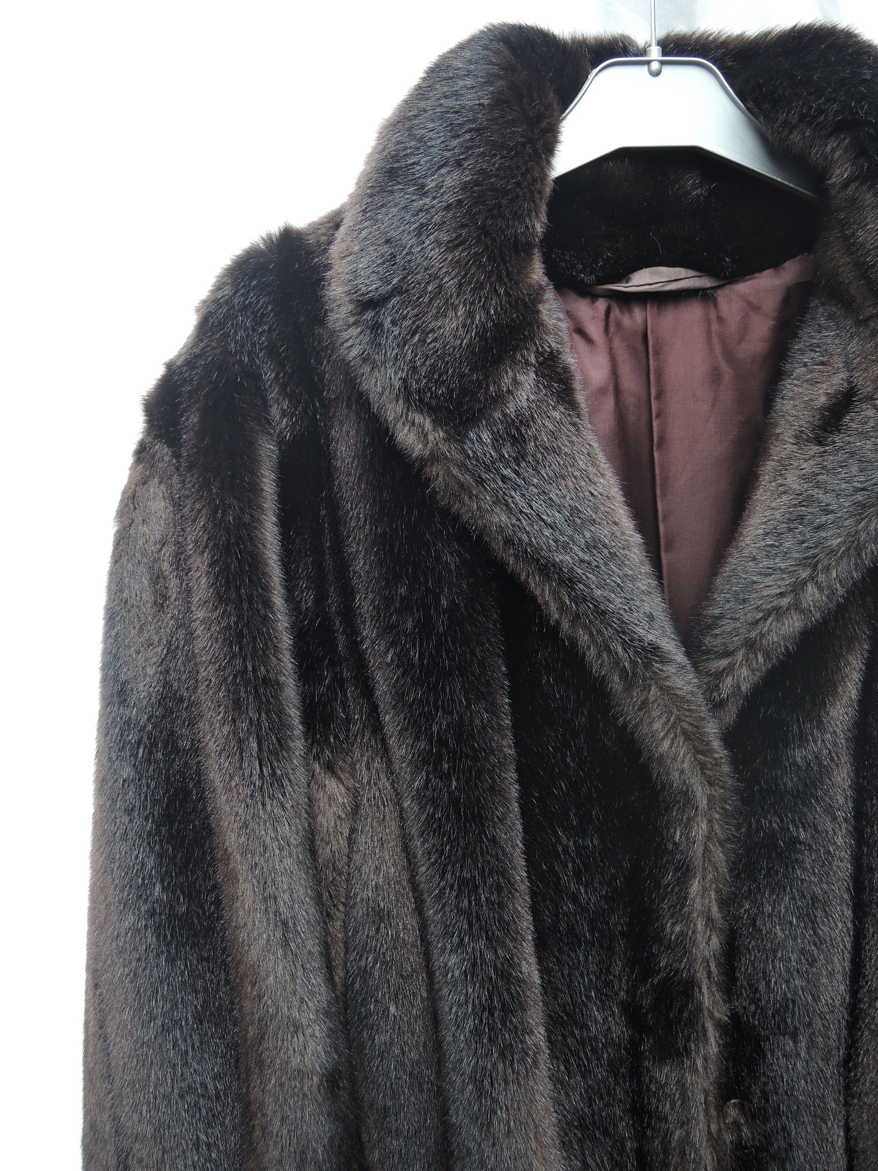 Manteaux - Manteau fausse fourrure