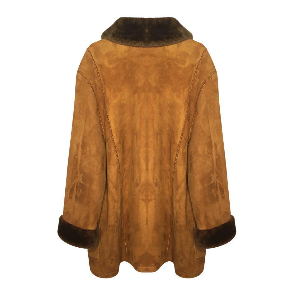 Manteaux - Manteau peau lainée