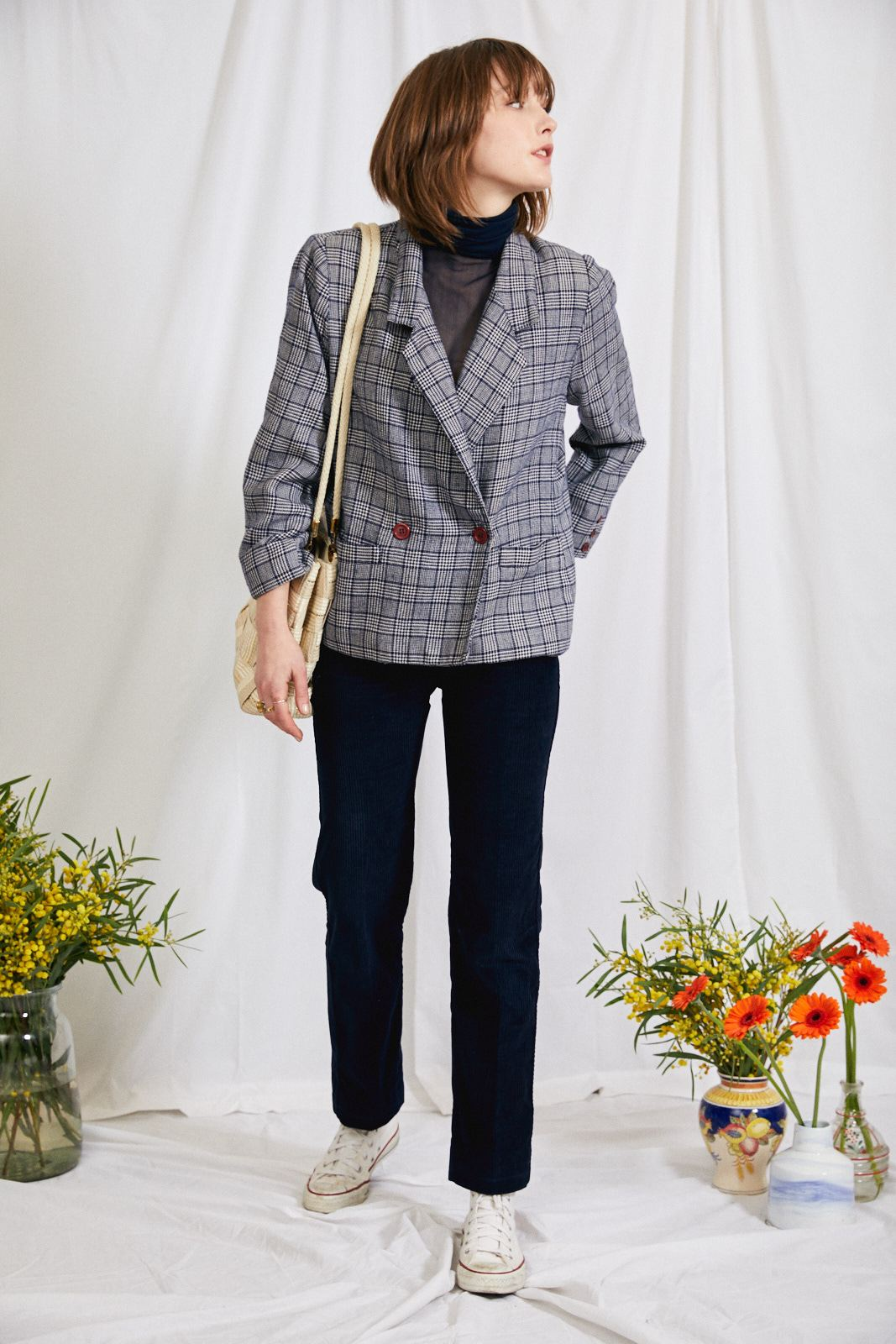 Pantalons - Pantalon velours côtelé