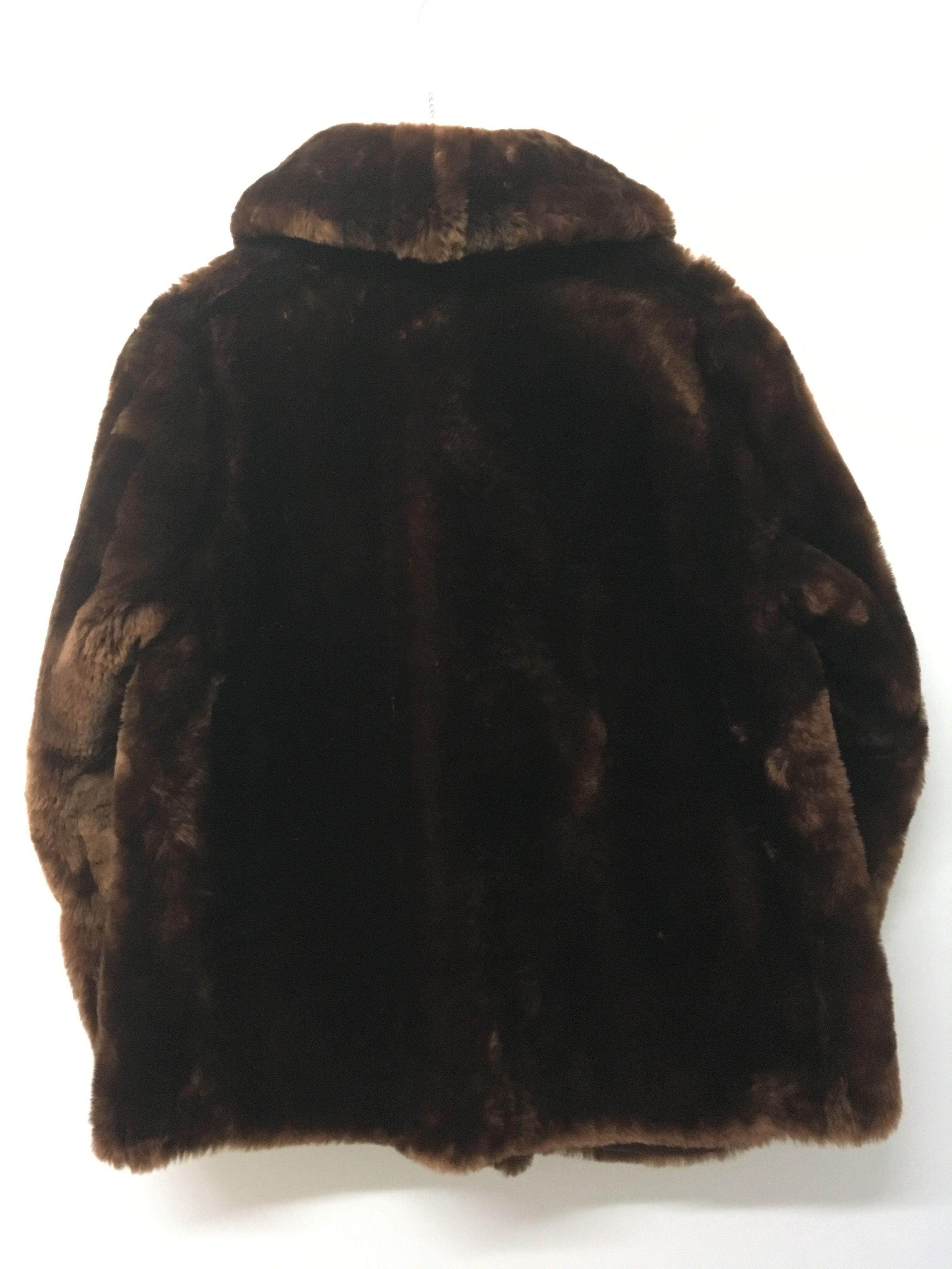 Manteaux - Veste mouton doré