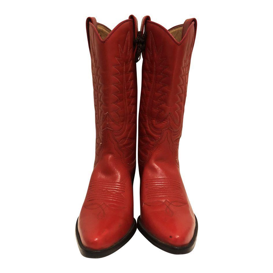 Accessoires - Santiags rouge