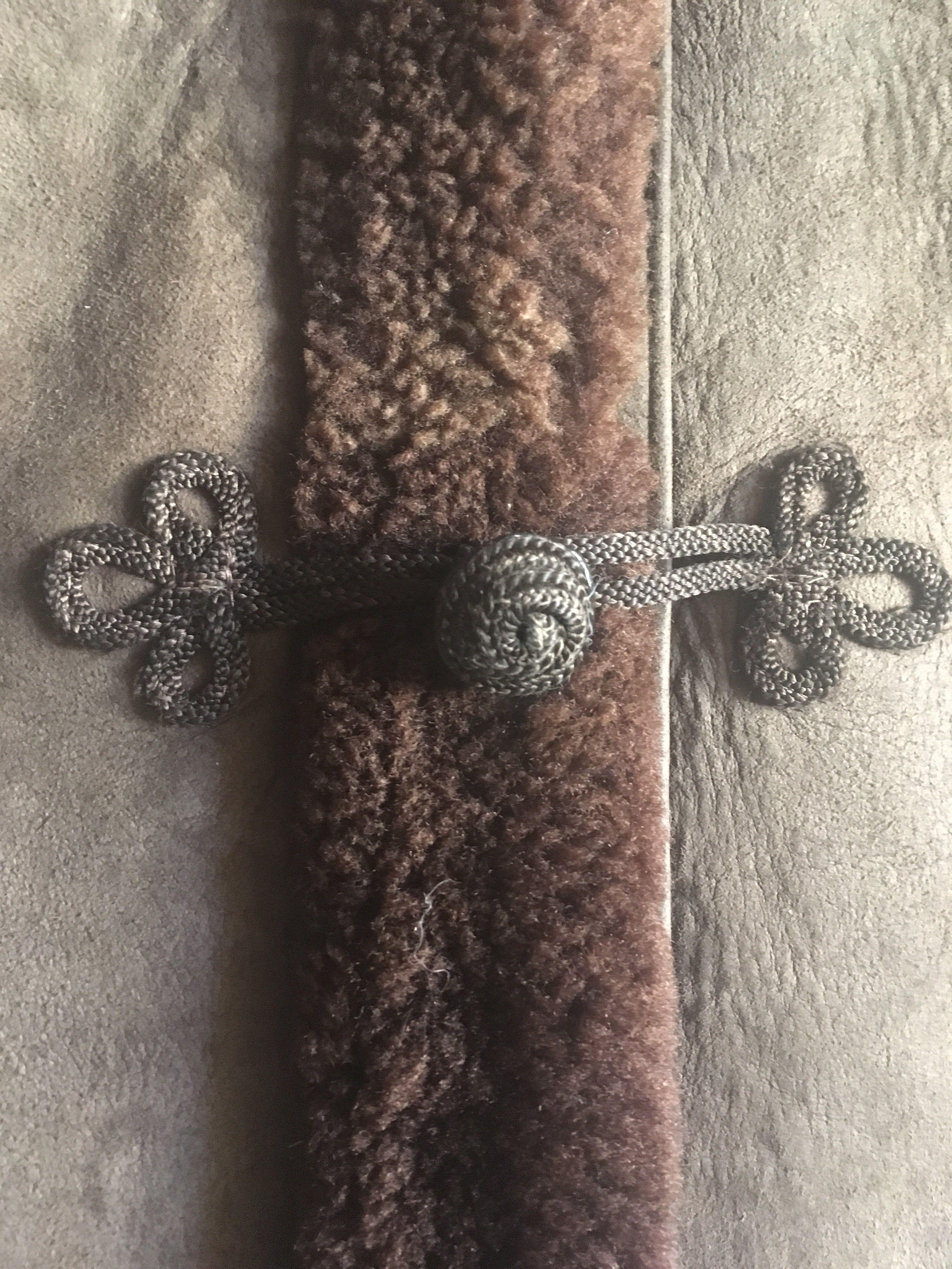 Manteaux - Peau lainée brodée