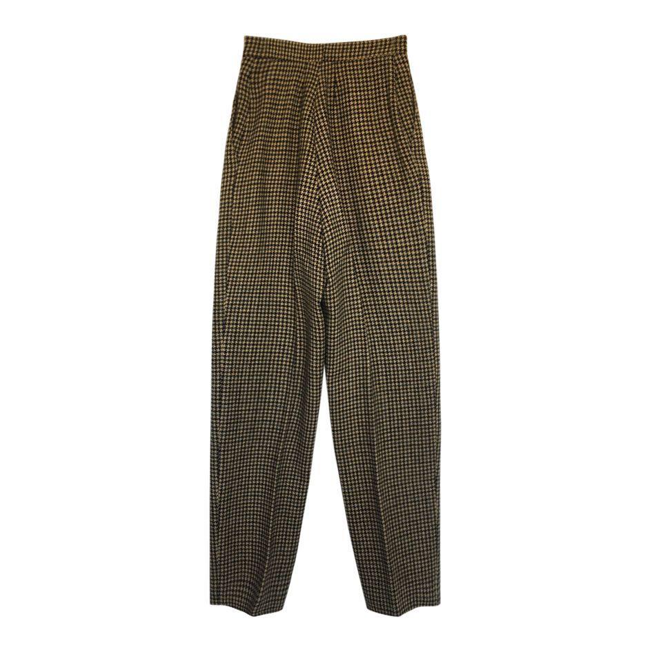 Pantalons - Pantalon pied-de-coq