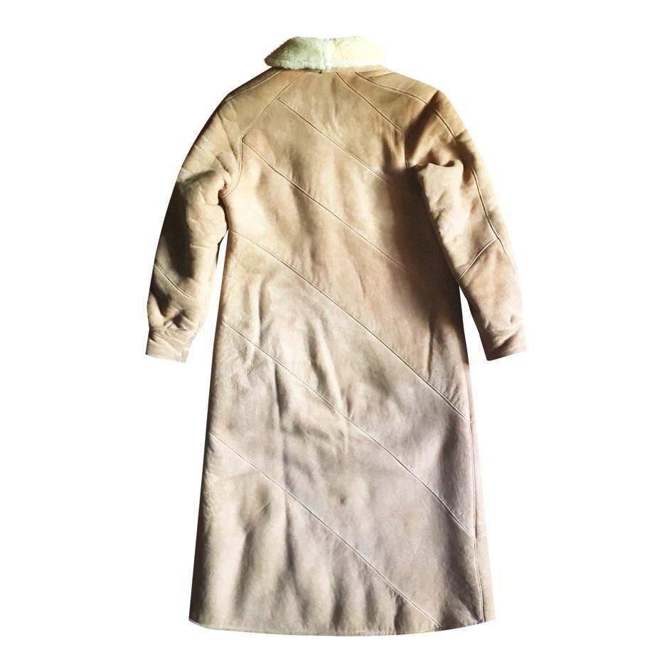 Manteaux - Peau lainée beige