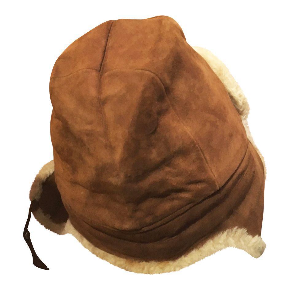 Accessoires - Chapka en peau lainée