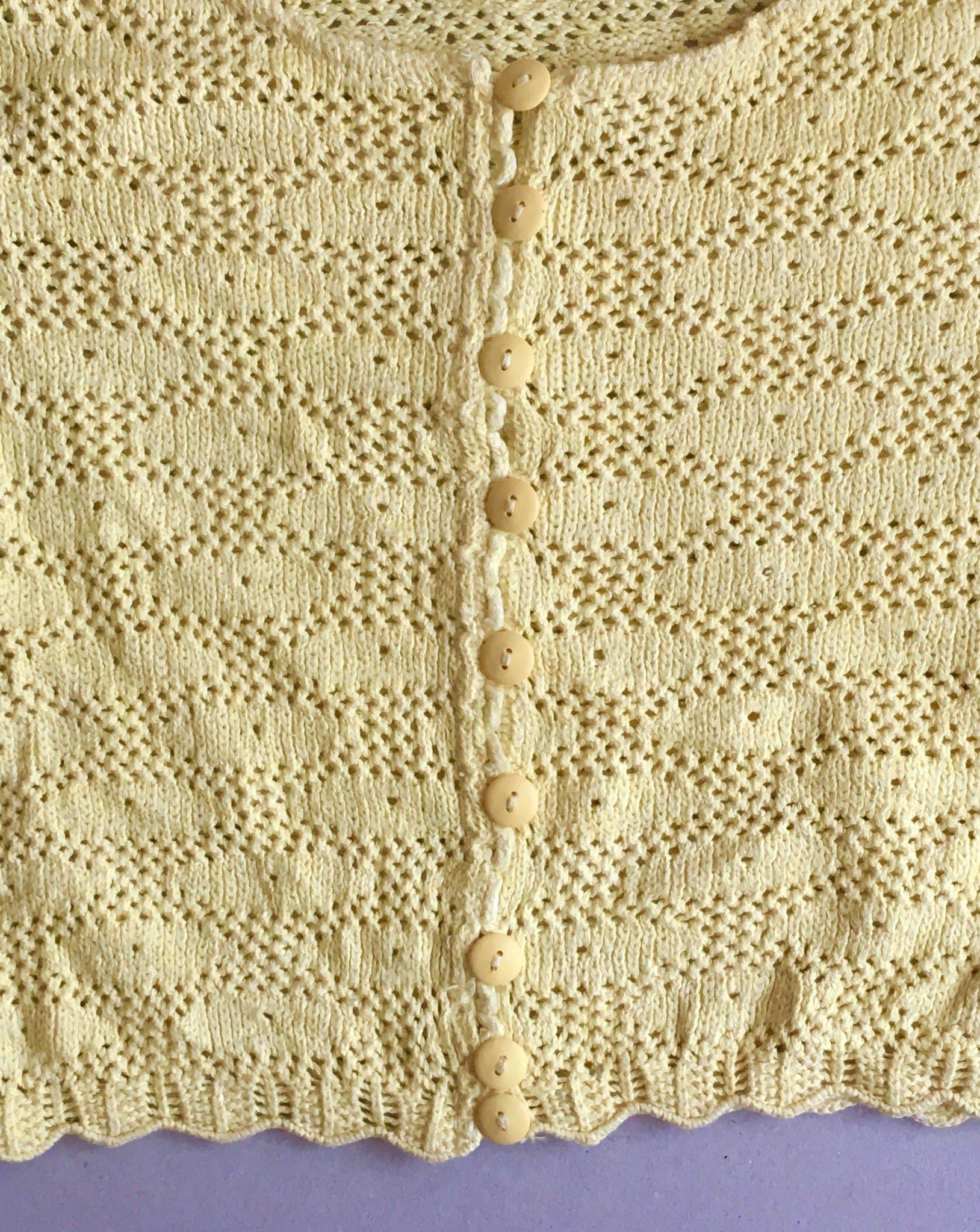 Pulls - Gilet jaune