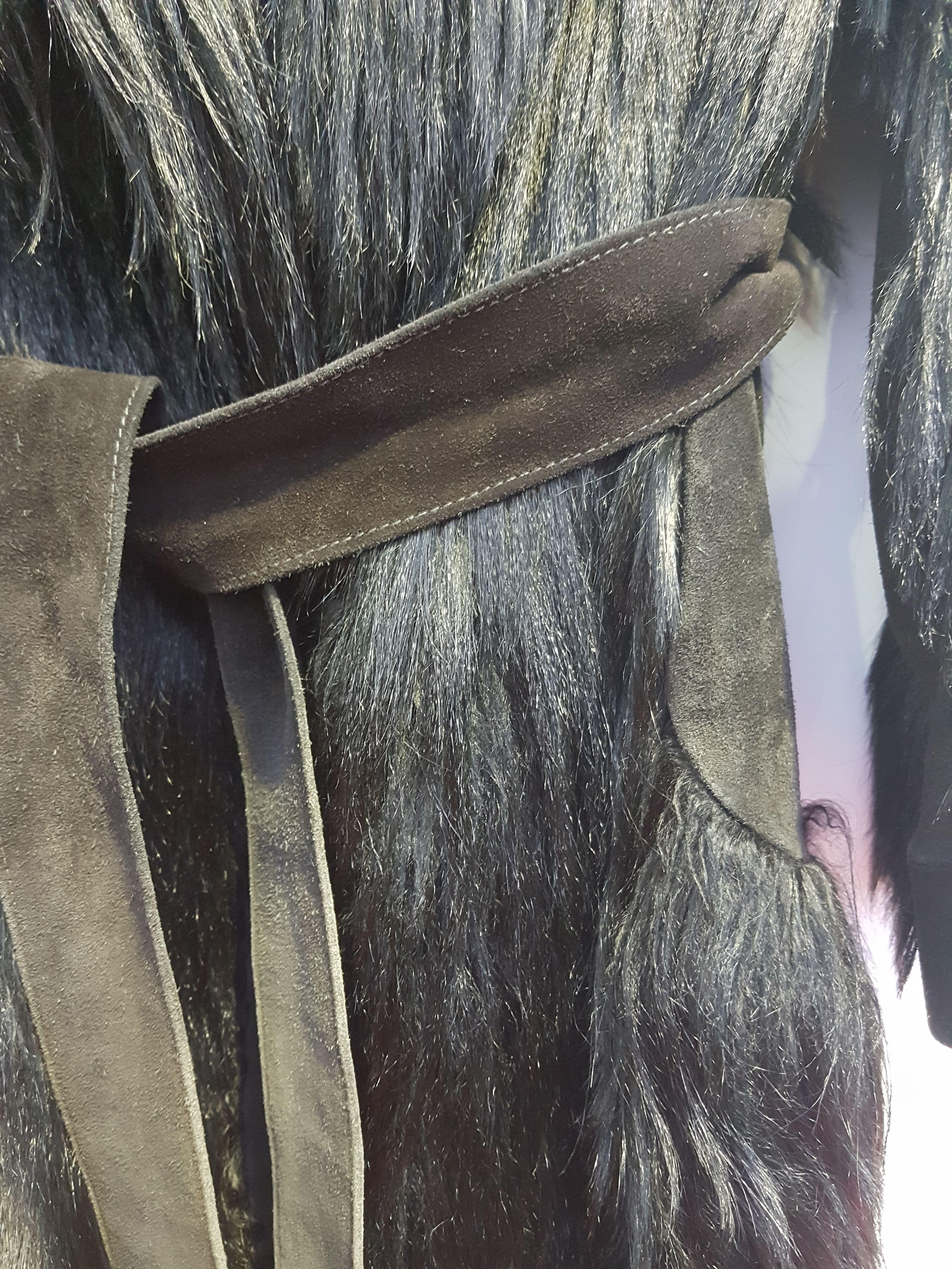 Manteaux - Veste en chèvre et daim