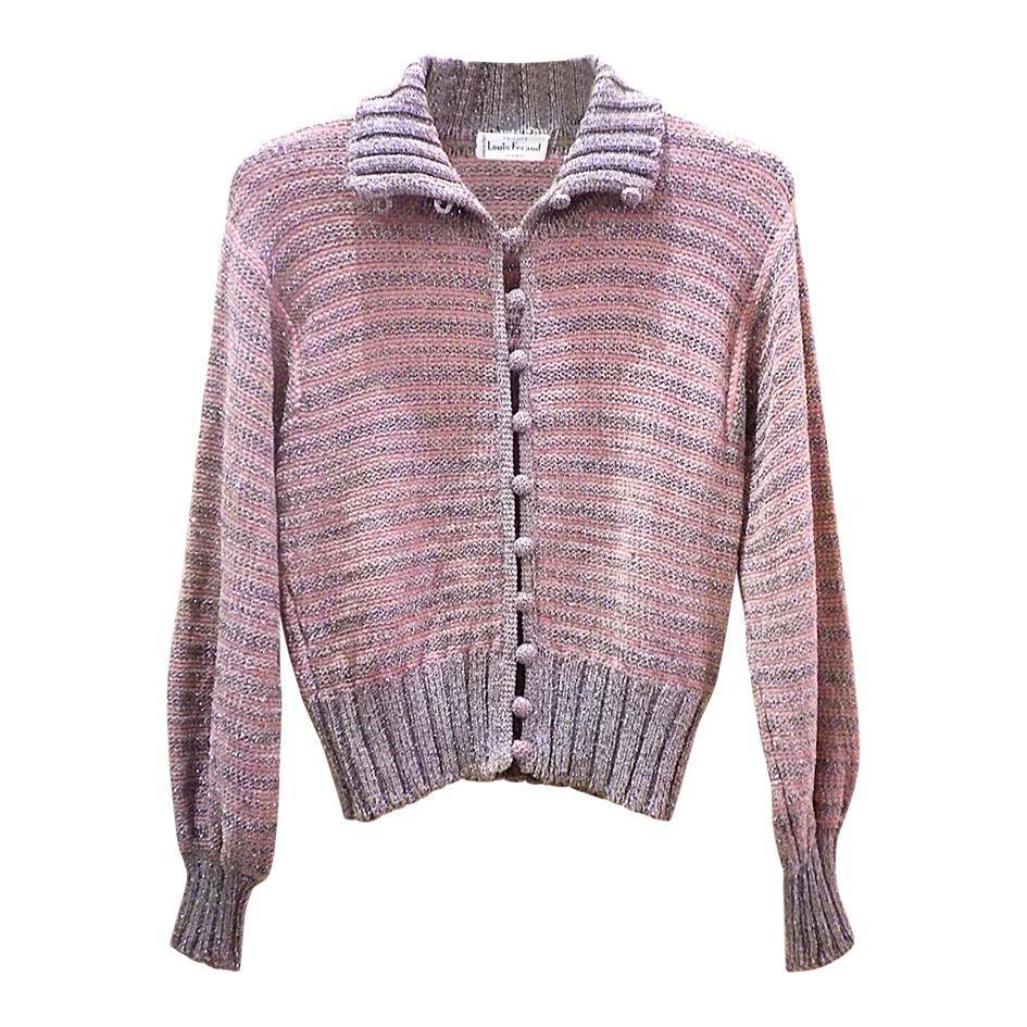 Pulls - Cardigan laine et lurex