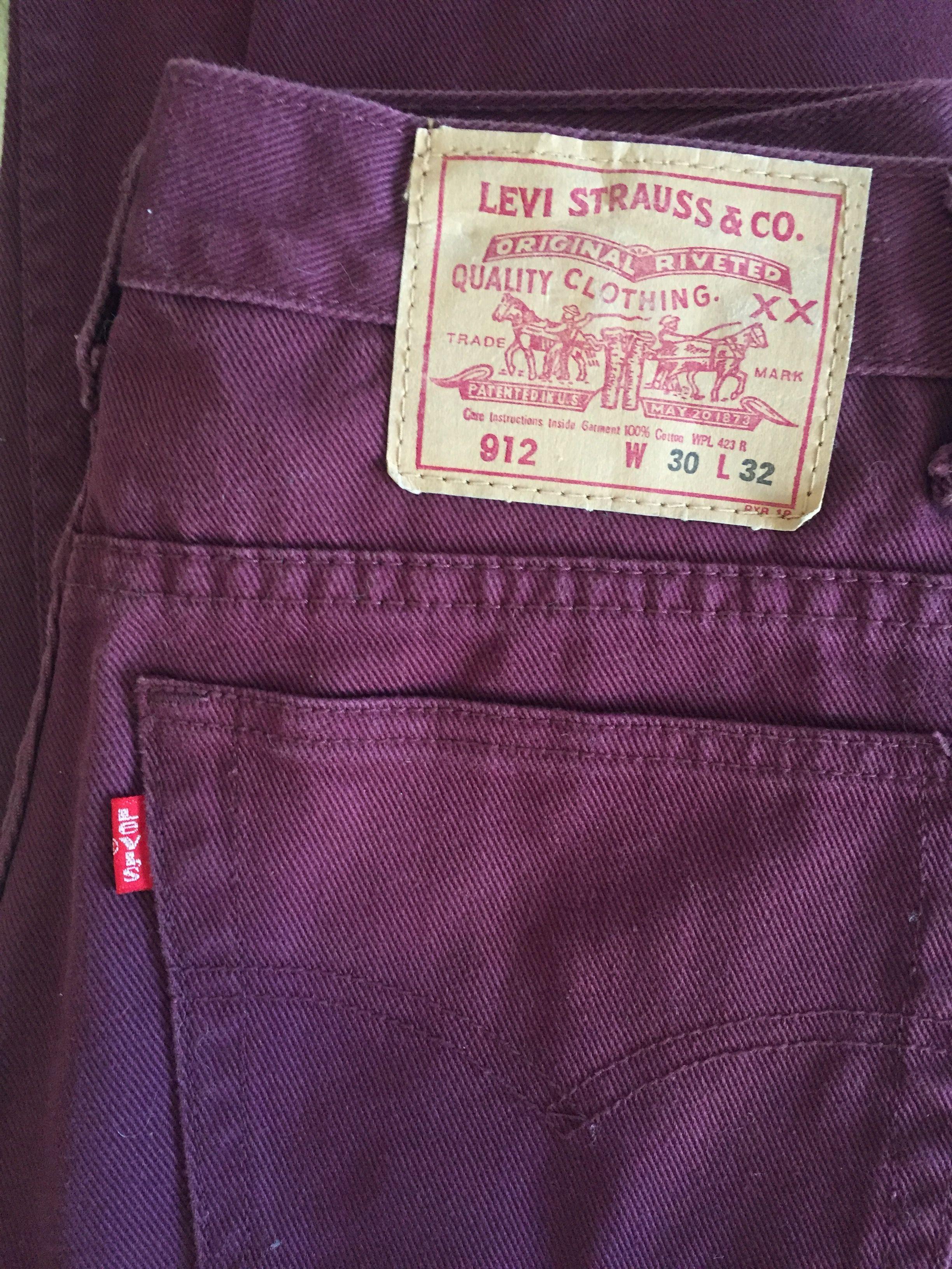 Pantalons - Jean Levi's 912 W30L32