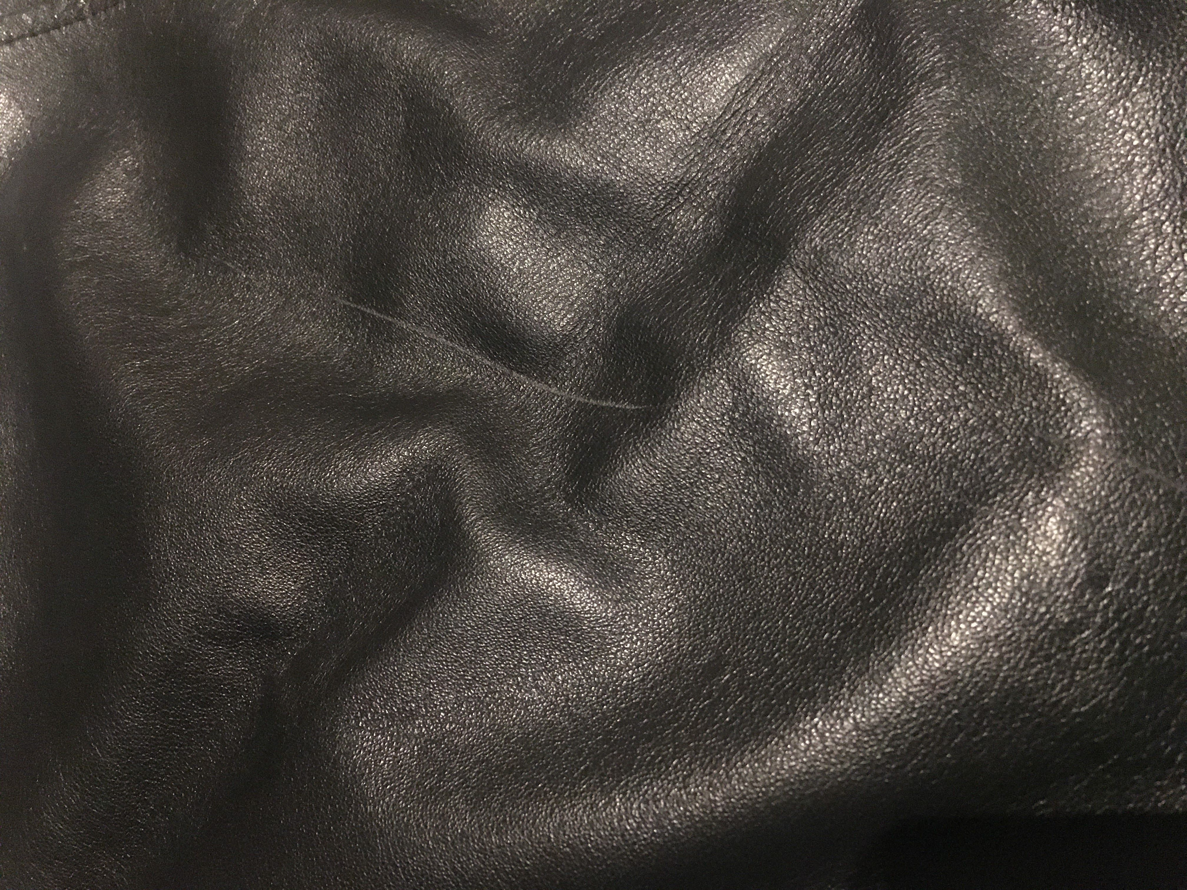 Jupes - Jupe en cuir