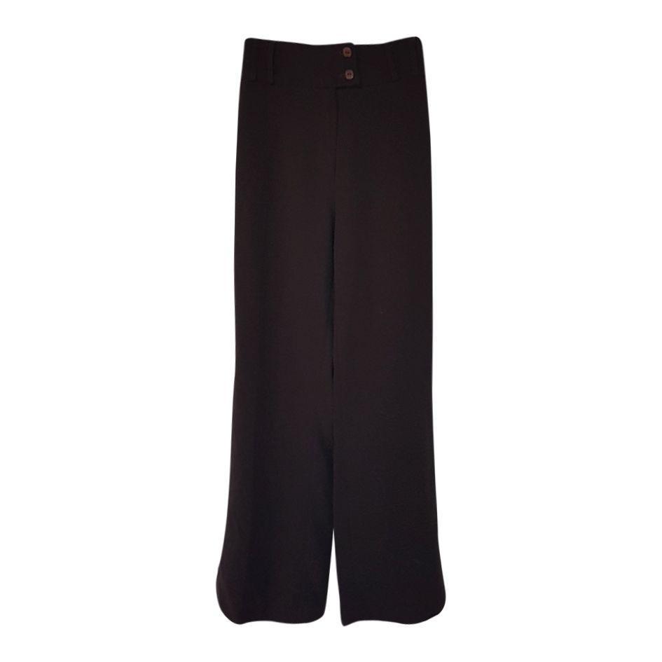 Pantalons - Flare taille haute