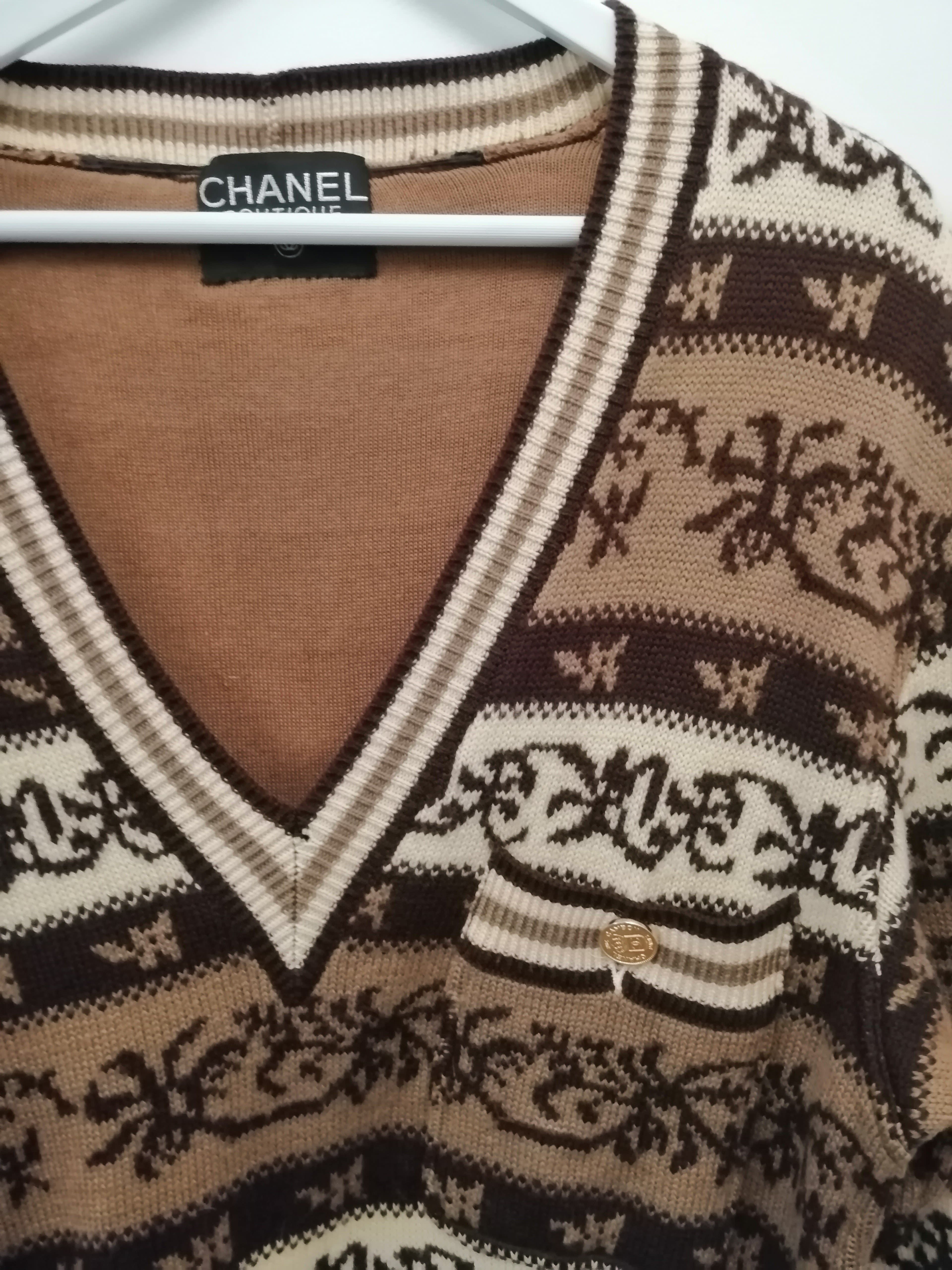 Robes - Robe pull Chanel