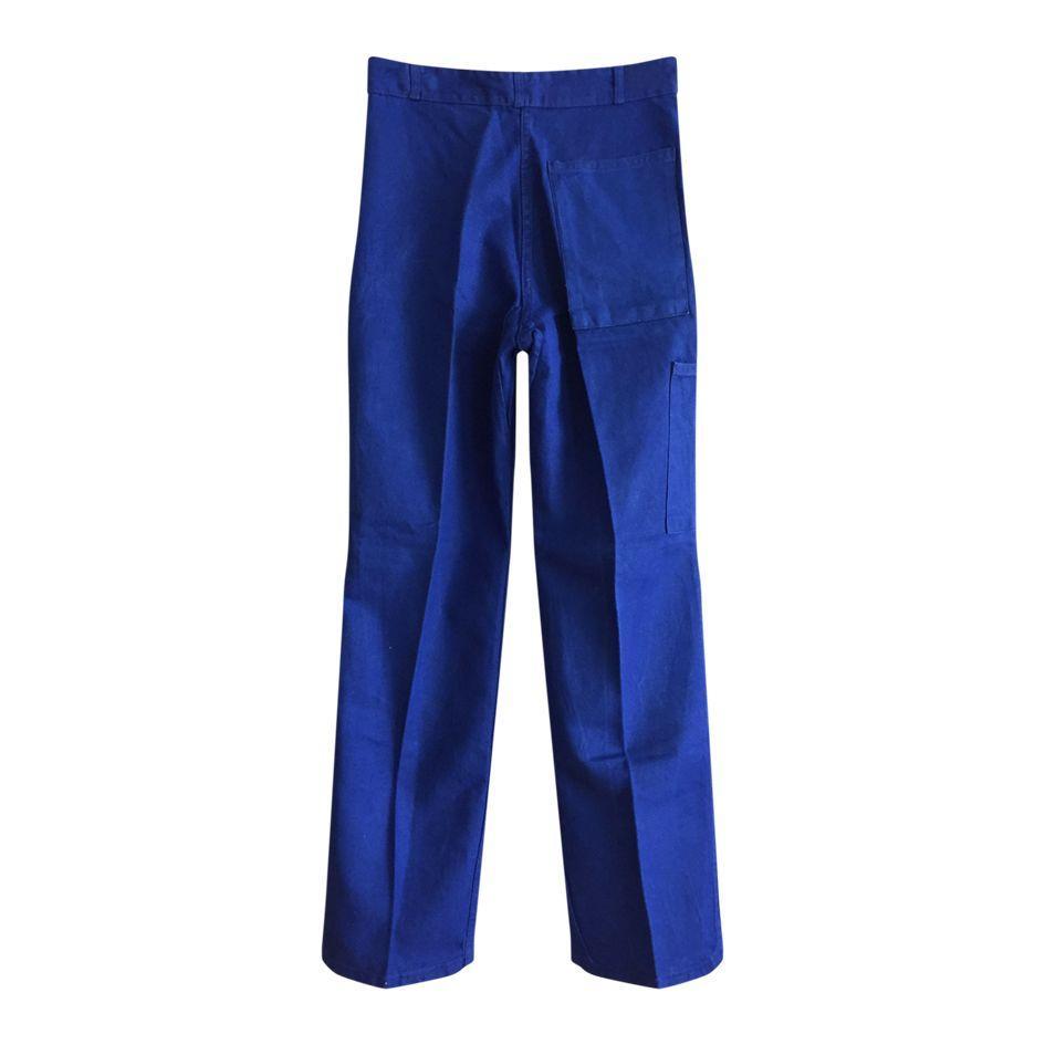 Pantalons - Pantalon bleu de travail