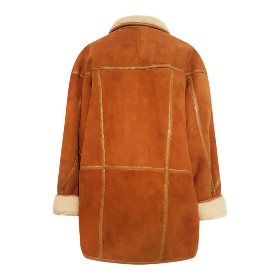 Manteaux - Peau lainée camel