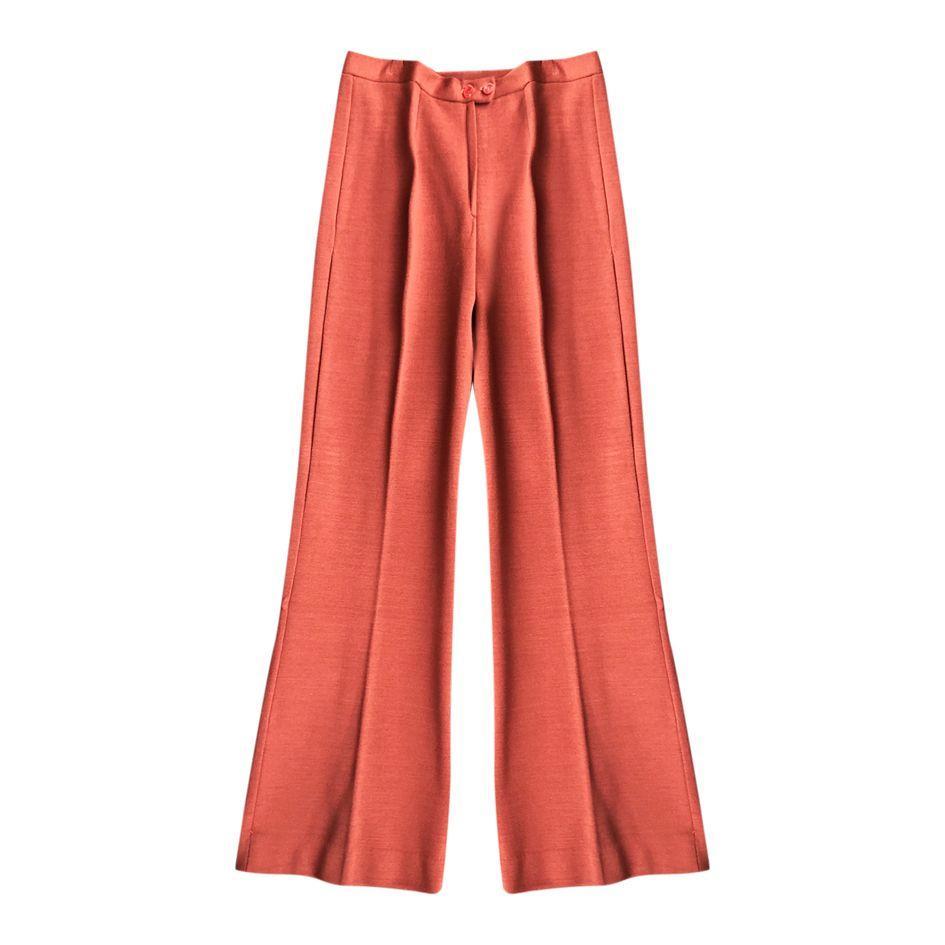Pantalons - Flare en laine