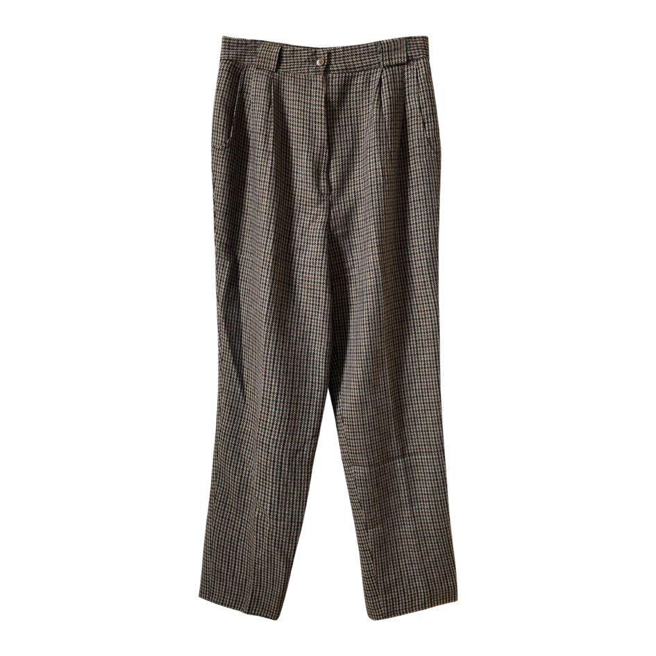 Pantalons - Pantalon pied-de-poule