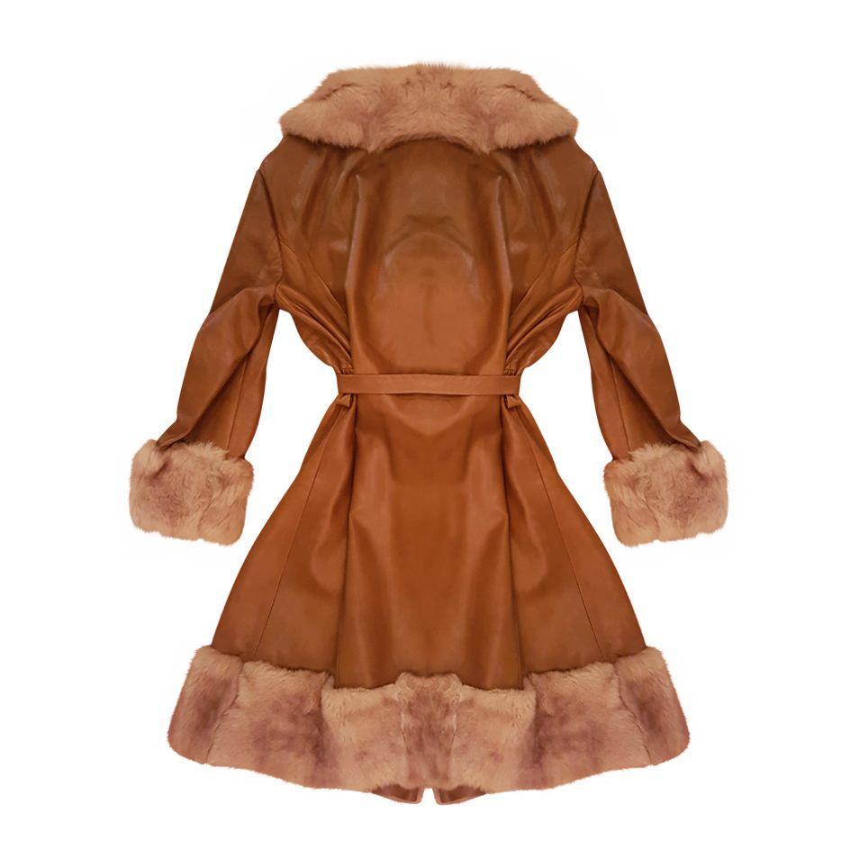 Manteaux - Manteau cuir et fourrure