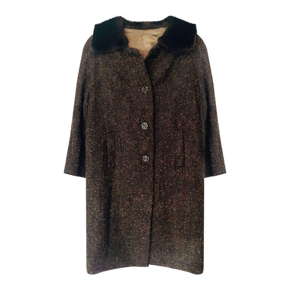 Manteaux - Manteau tweed
