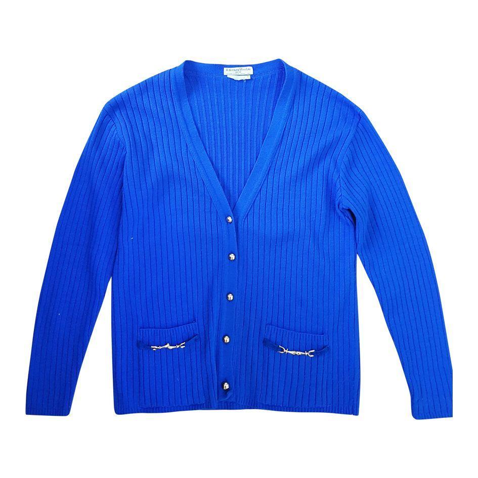 Pulls - Cardigan bleu