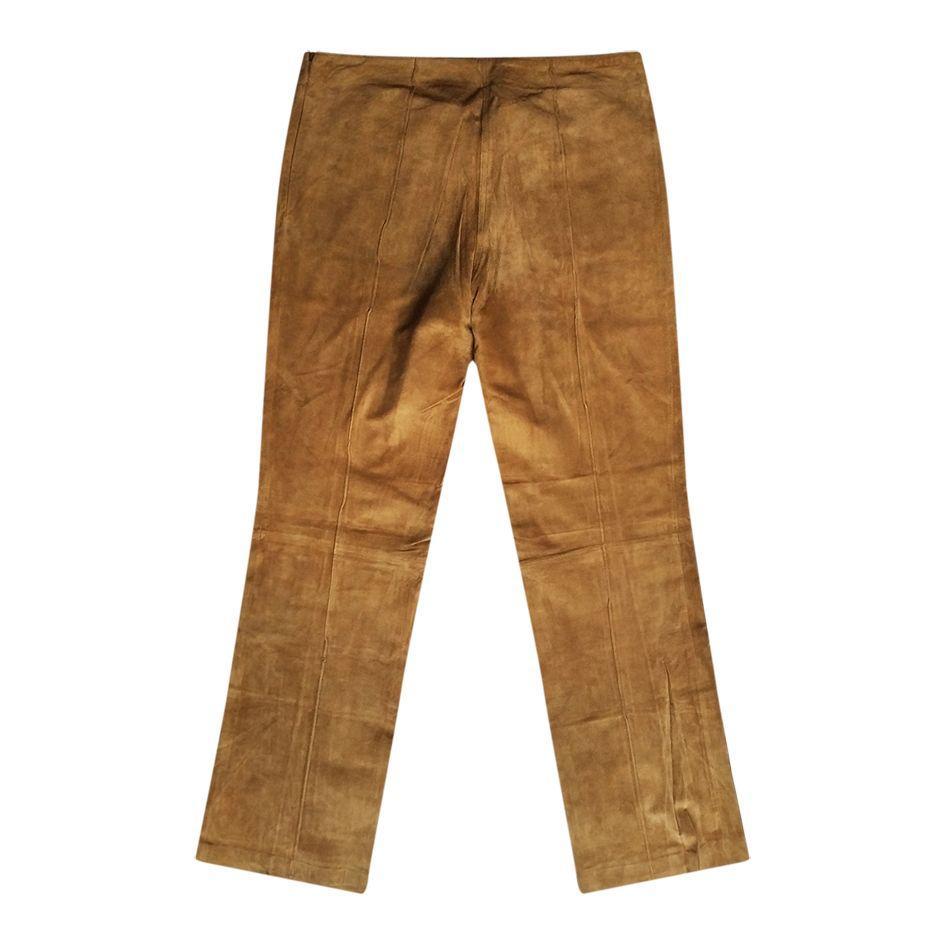 Pantalons - Pantalon en daim