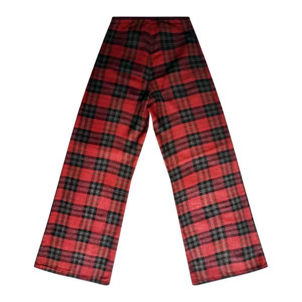 Pantalons - Flare tartan