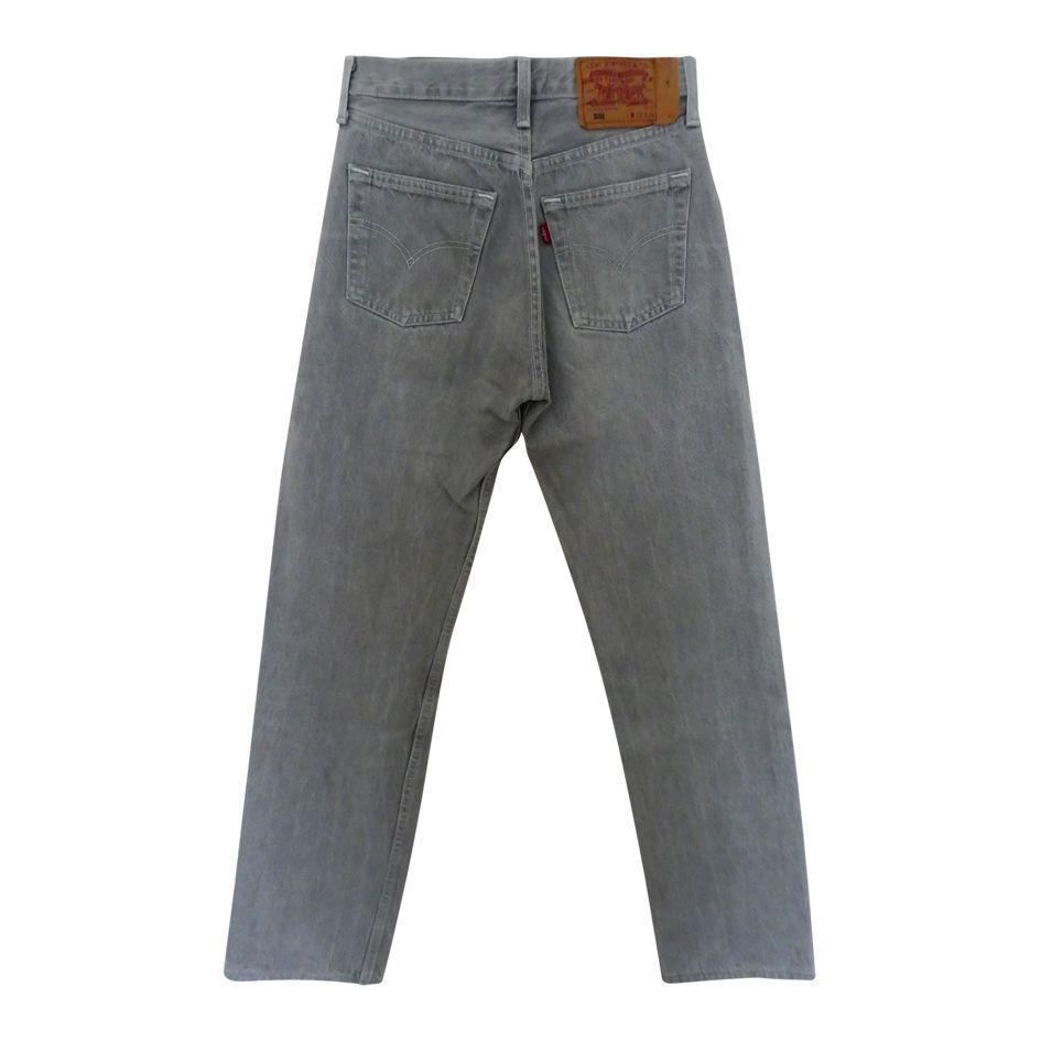 Pantalons - Jean Levi's 501 W28L32 gris clair