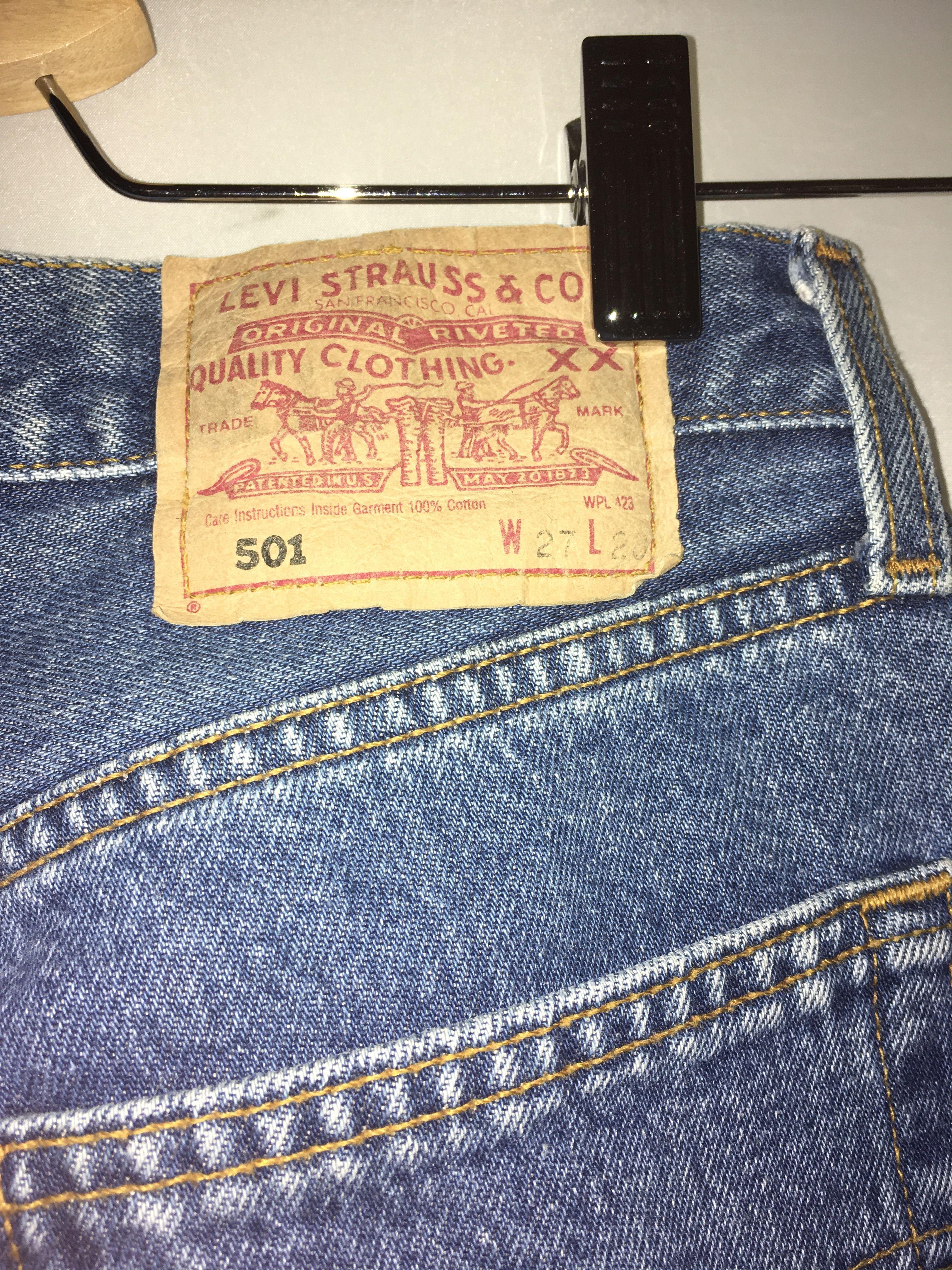 Pantalons - Jean Levi's 501 W27L28