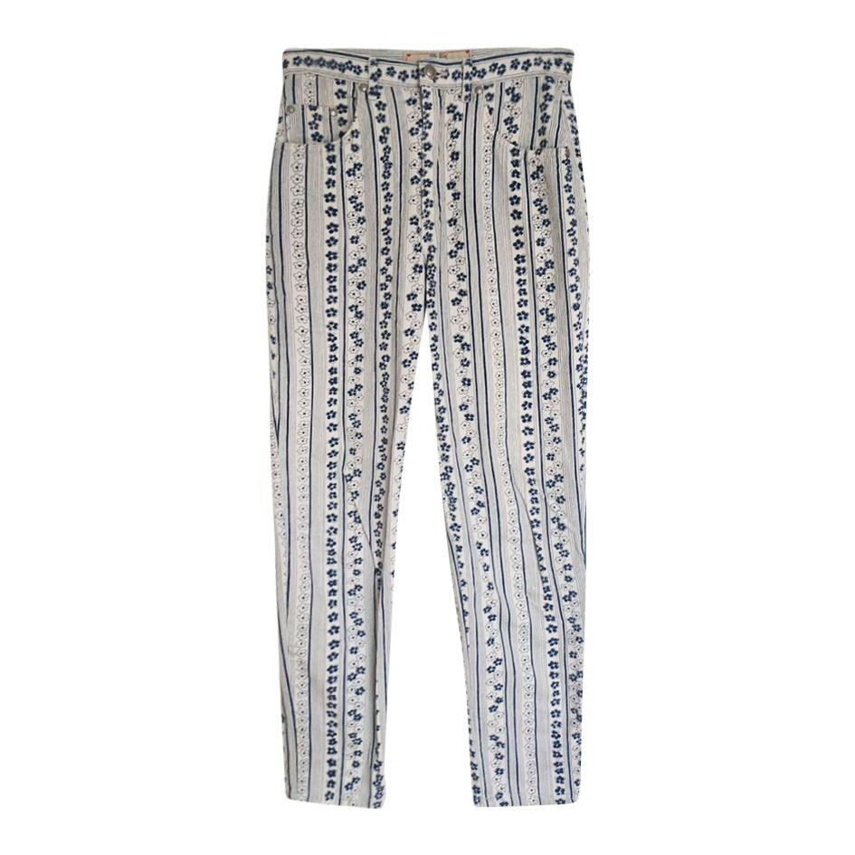 Pantalons - Pantalon à fleurs