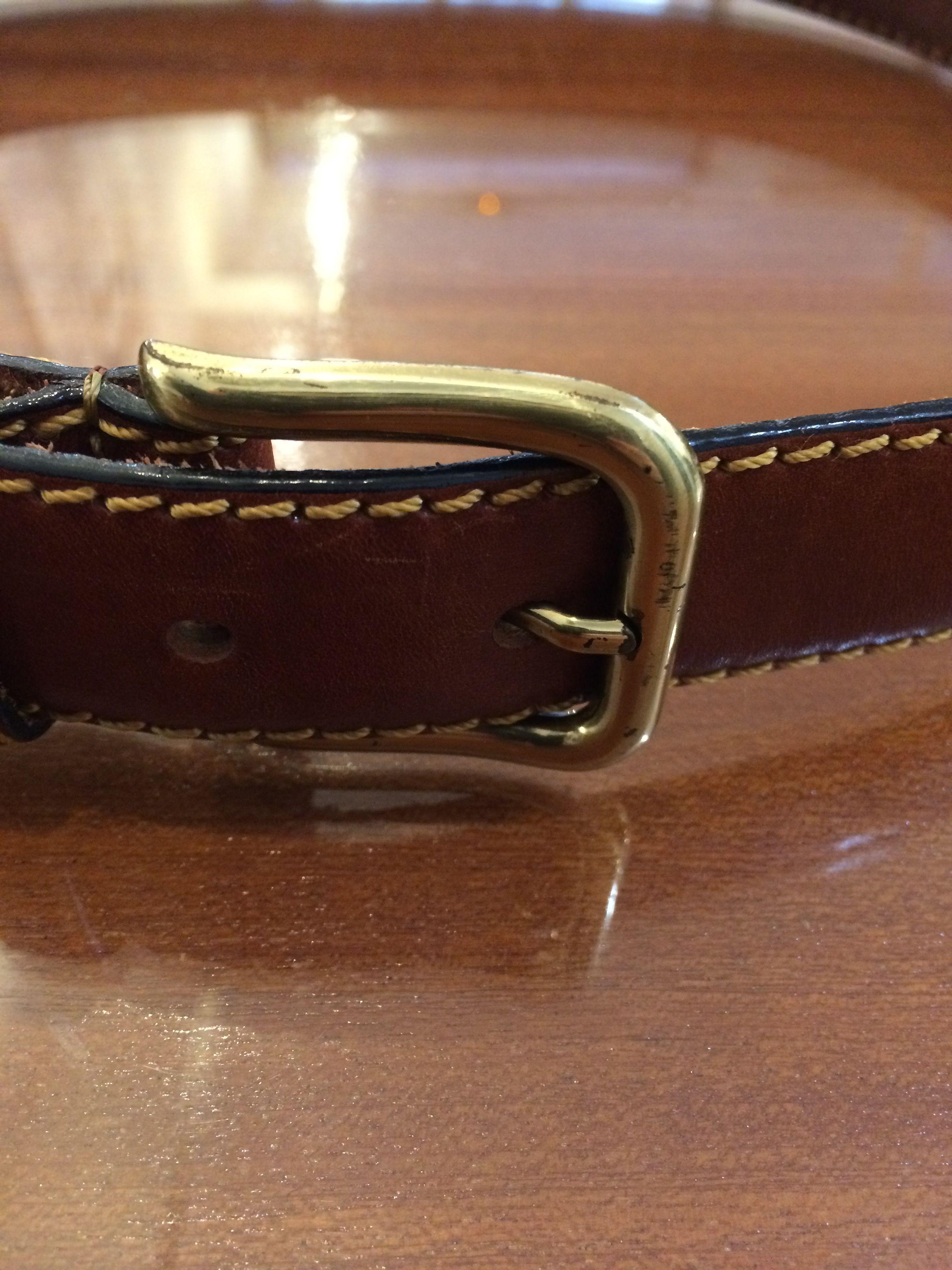 Accessoires - Ceinture en cuir