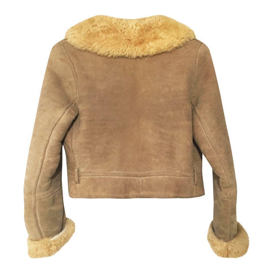 Vestes - Veste peau lainée