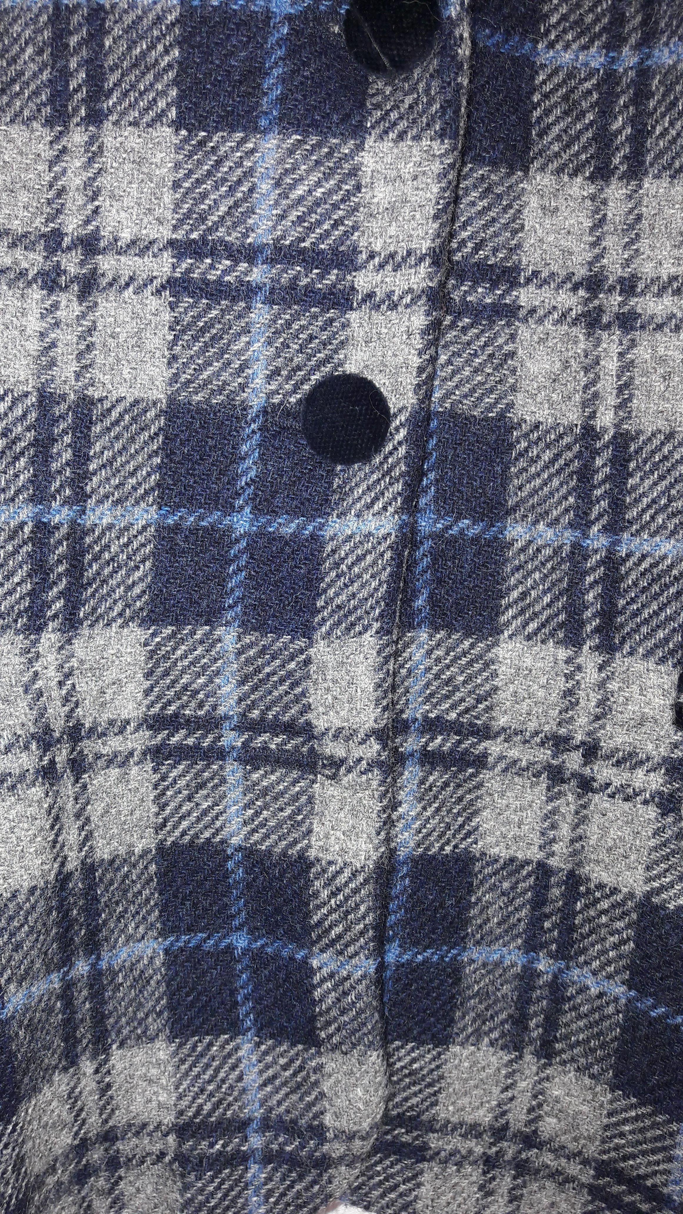 Vestes - Blazer en tweed col velours