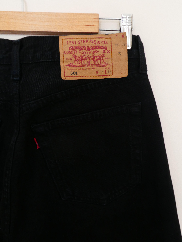 Pantalons - Jean Levi's 501 noir W31L34