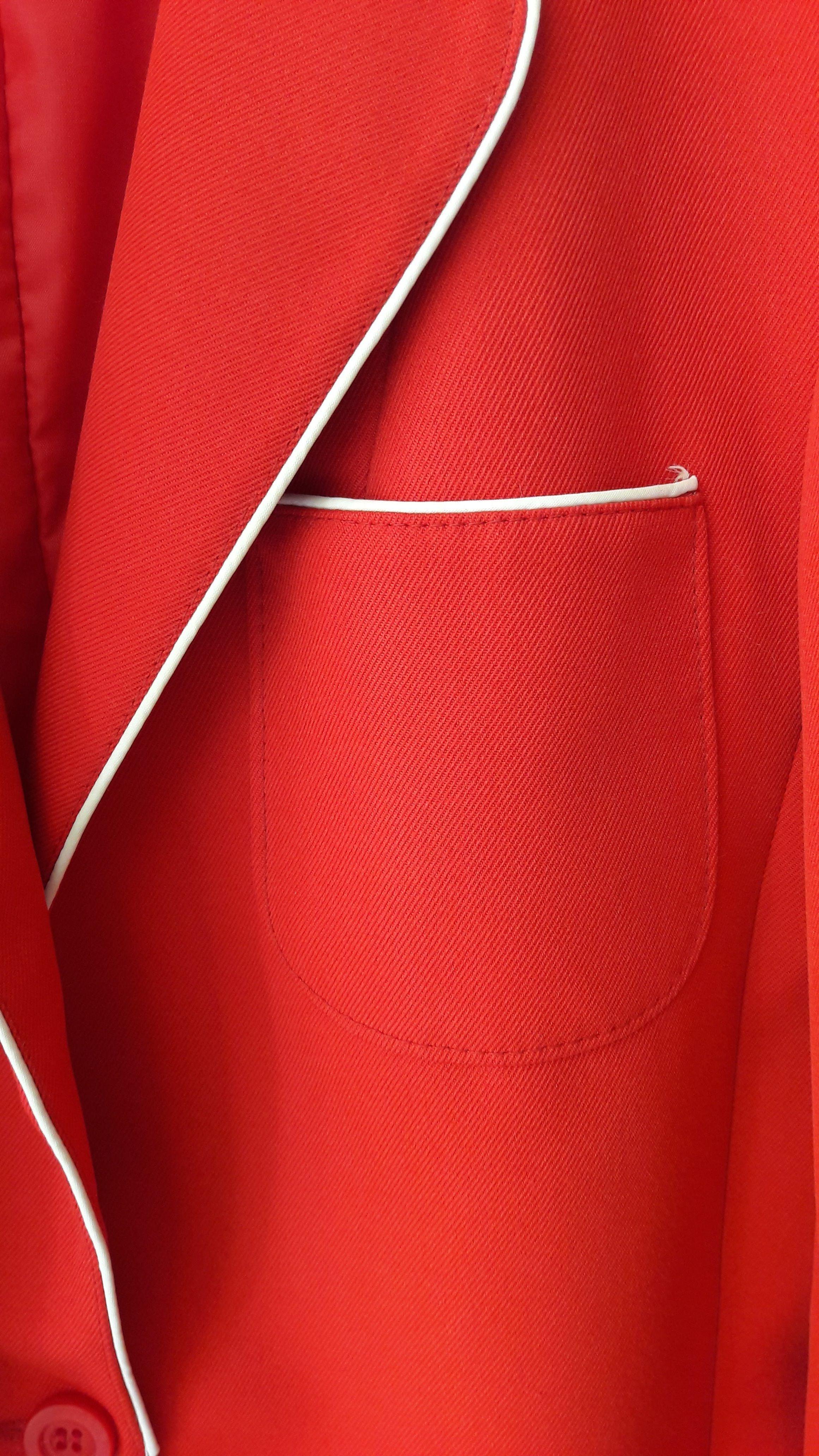 Vestes - Blazer rouge