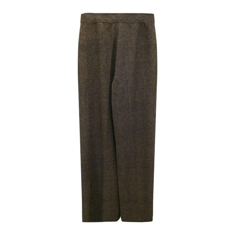 Pantalons - Pantalon flare en tweed