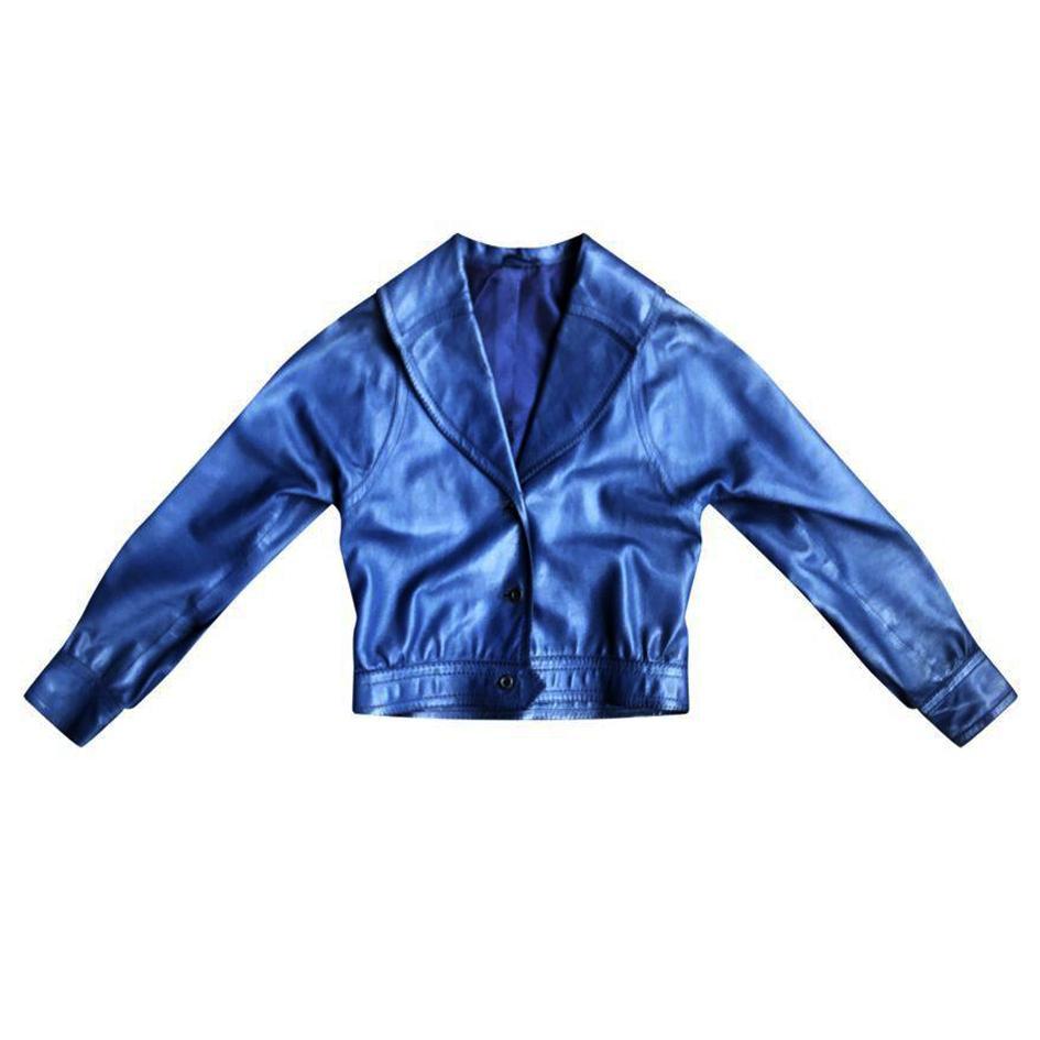 Vestes - Blouson en cuir Hermès