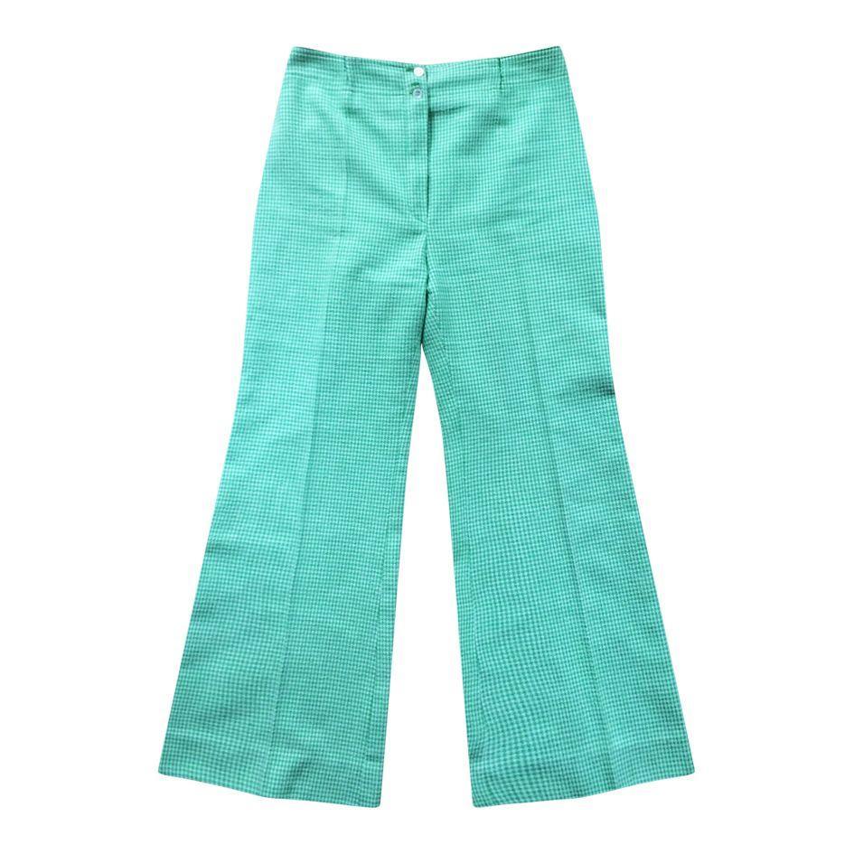 Pantalons - Flare Vichy