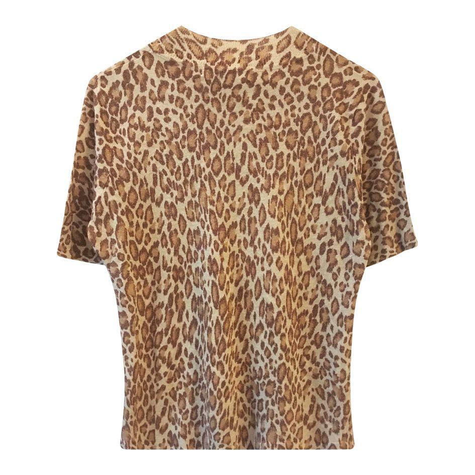 Tops - Top léopard