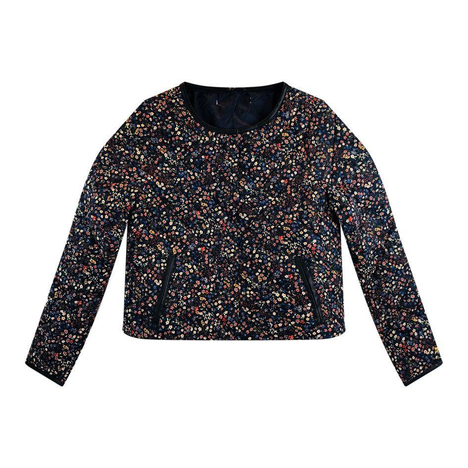 Vestes - Manteau à fleurs