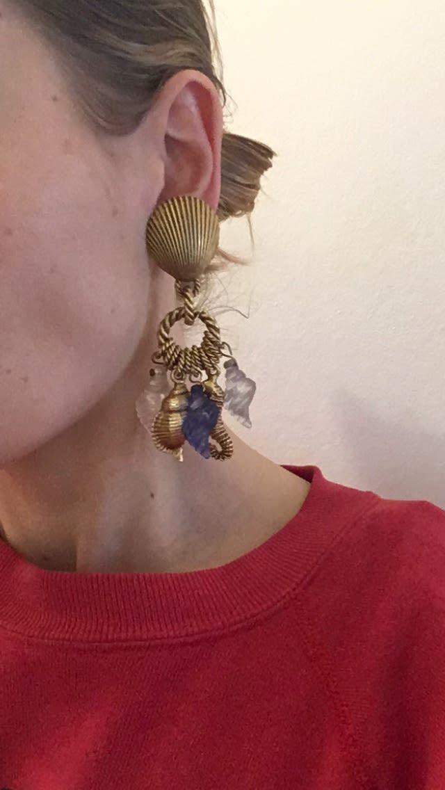 Accessoires - Boucles d'oreilles coquillages