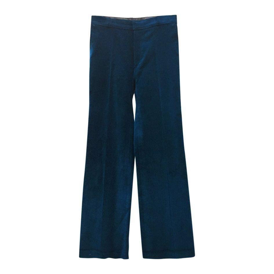 Pantalons - Flare en velours