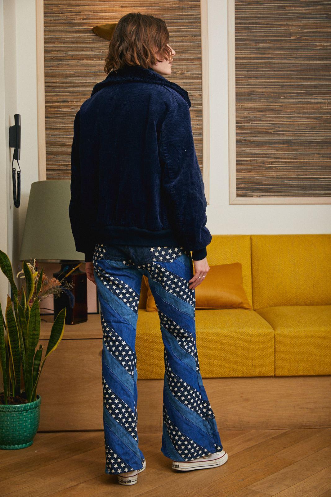 Pantalons - Jean flare étoiles