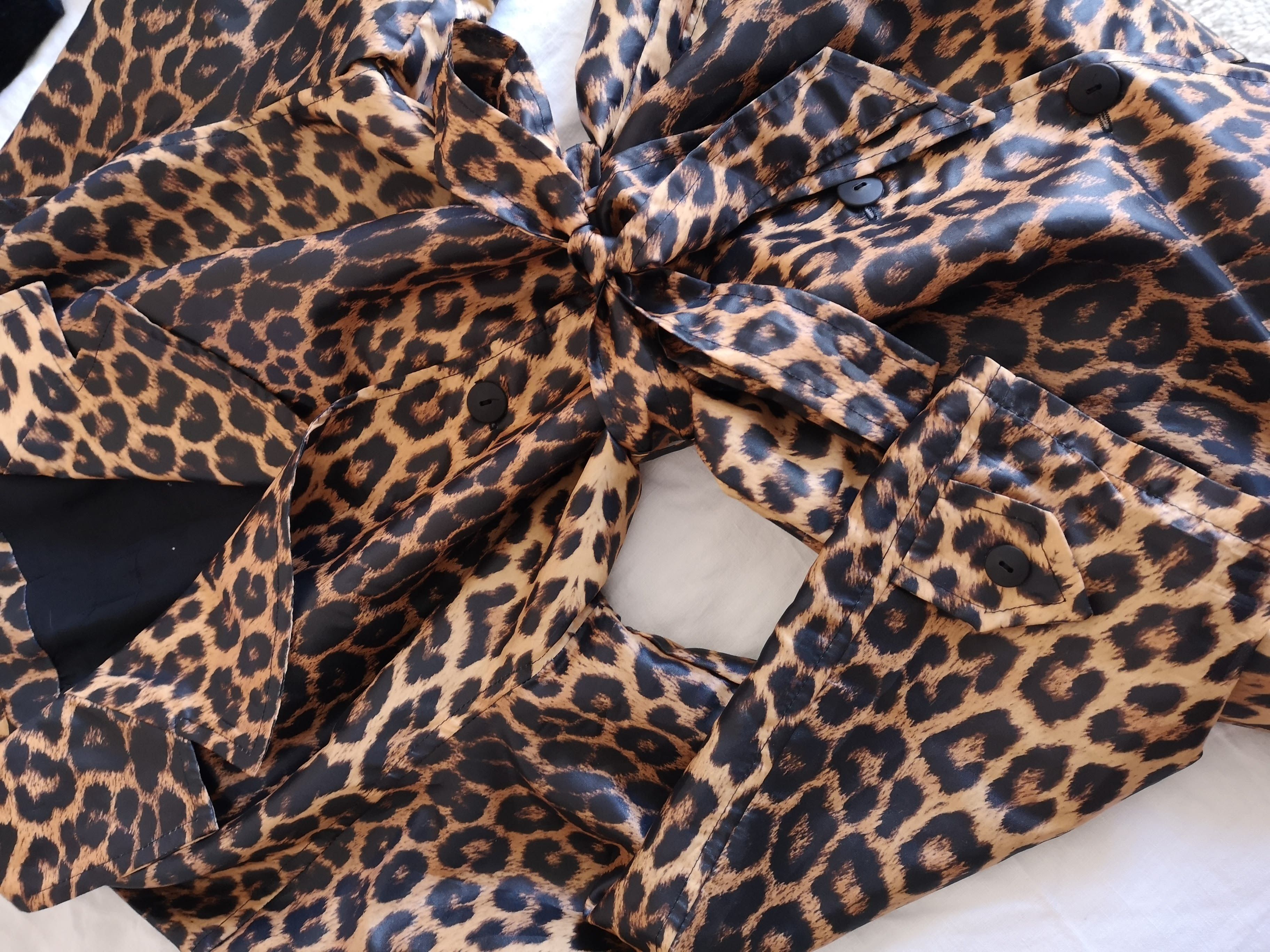 Vestes - Trench léopard