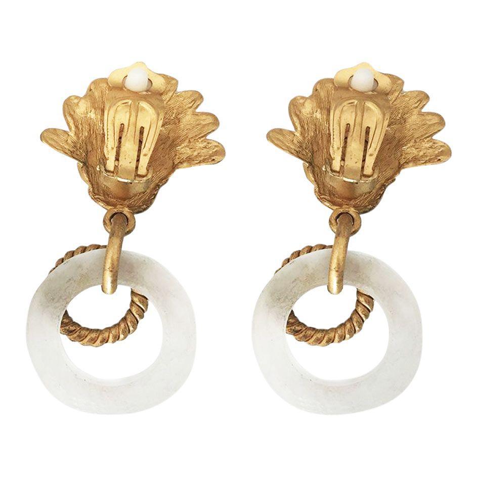 Accessoires - Boucles d'oreilles Louis Féraud