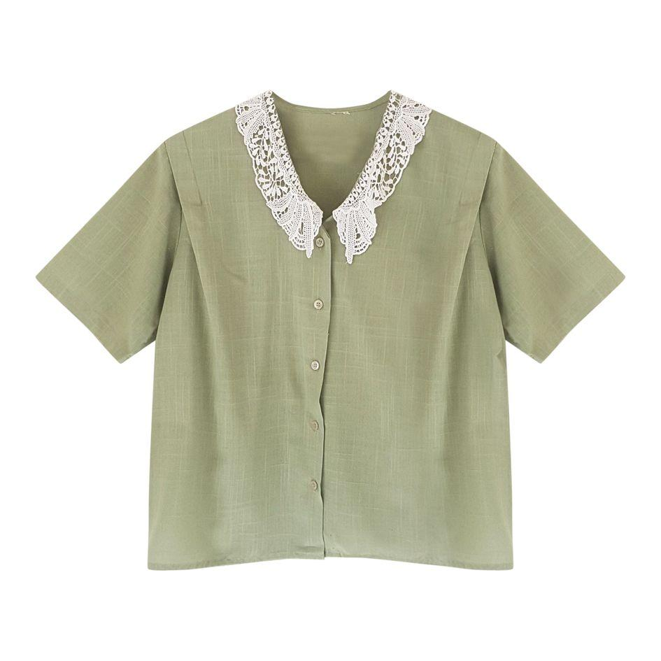 Tops - Blouse col Claudine