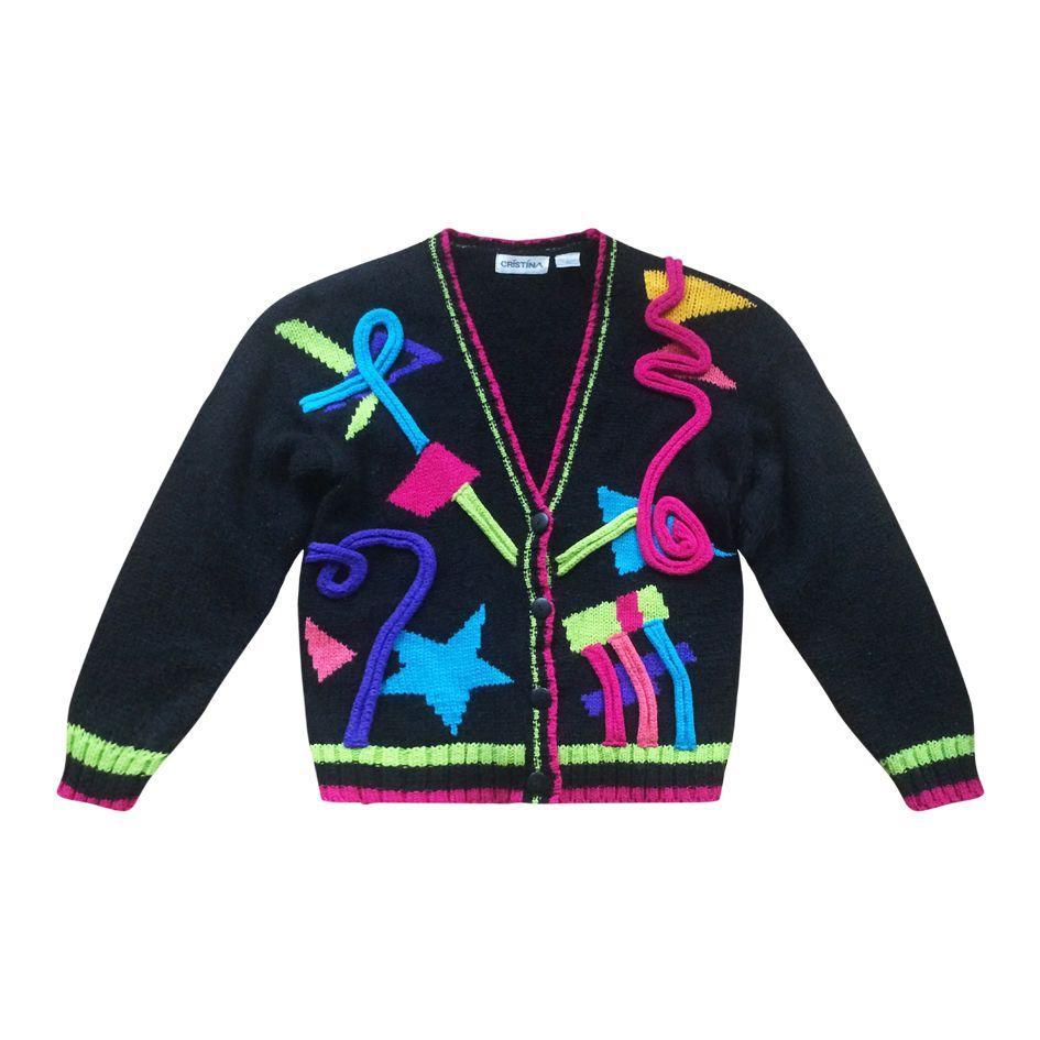 Pulls - Cardigan multicolore