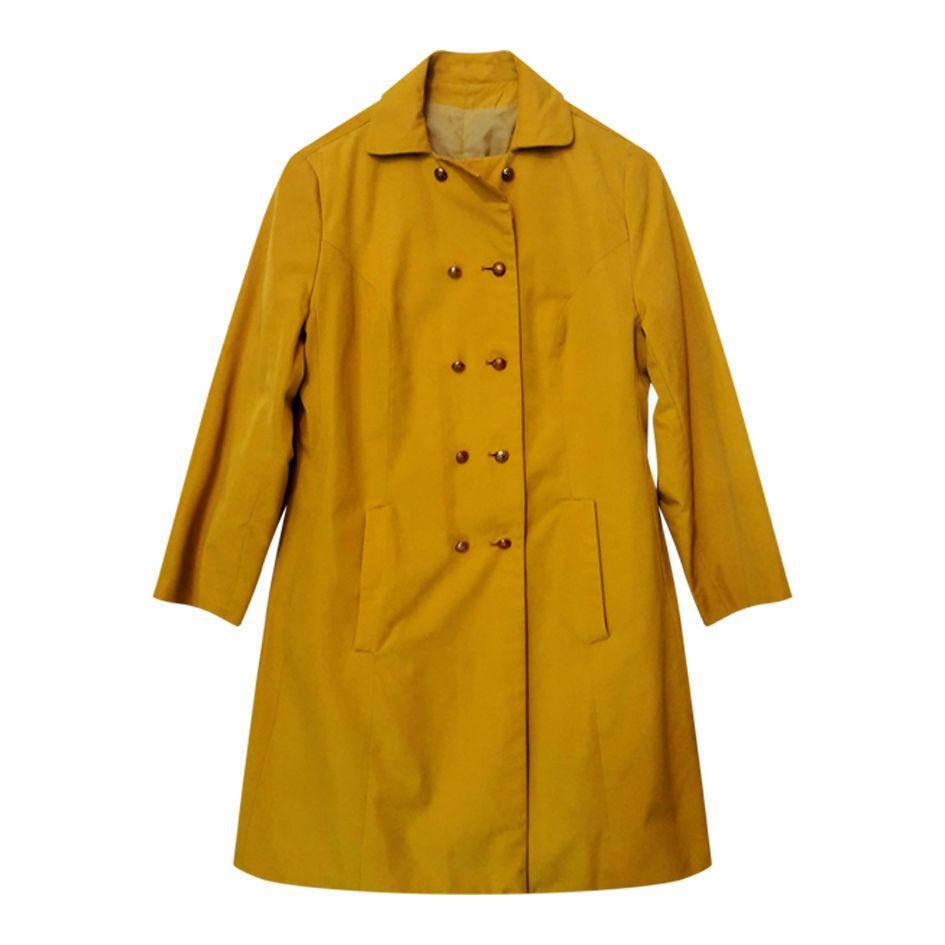 Manteaux - Manteau moutarde