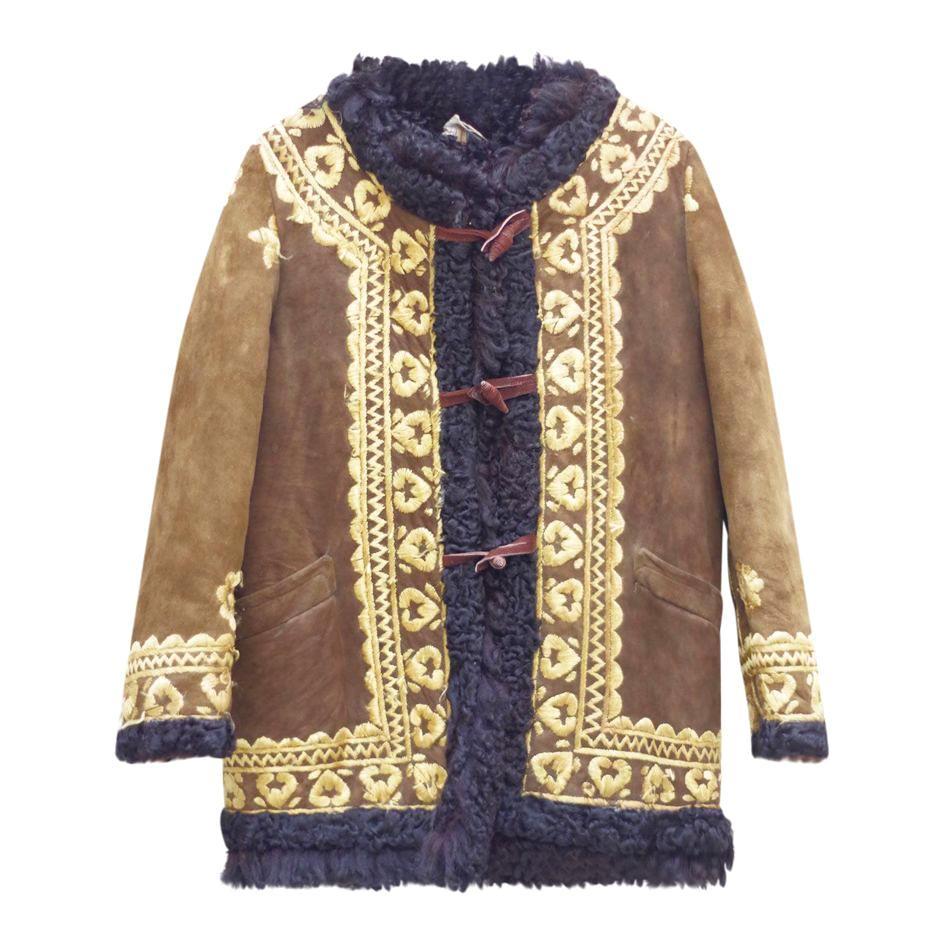 Vestes - Peau lainée afghane