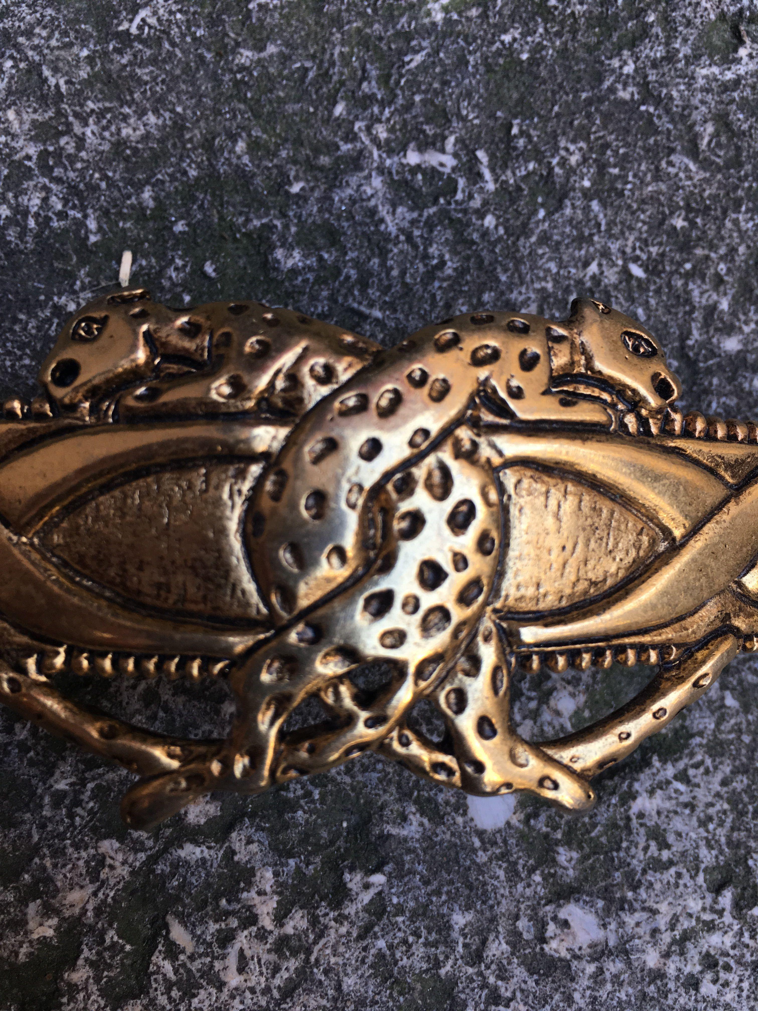 Accessoires - Barette léopards