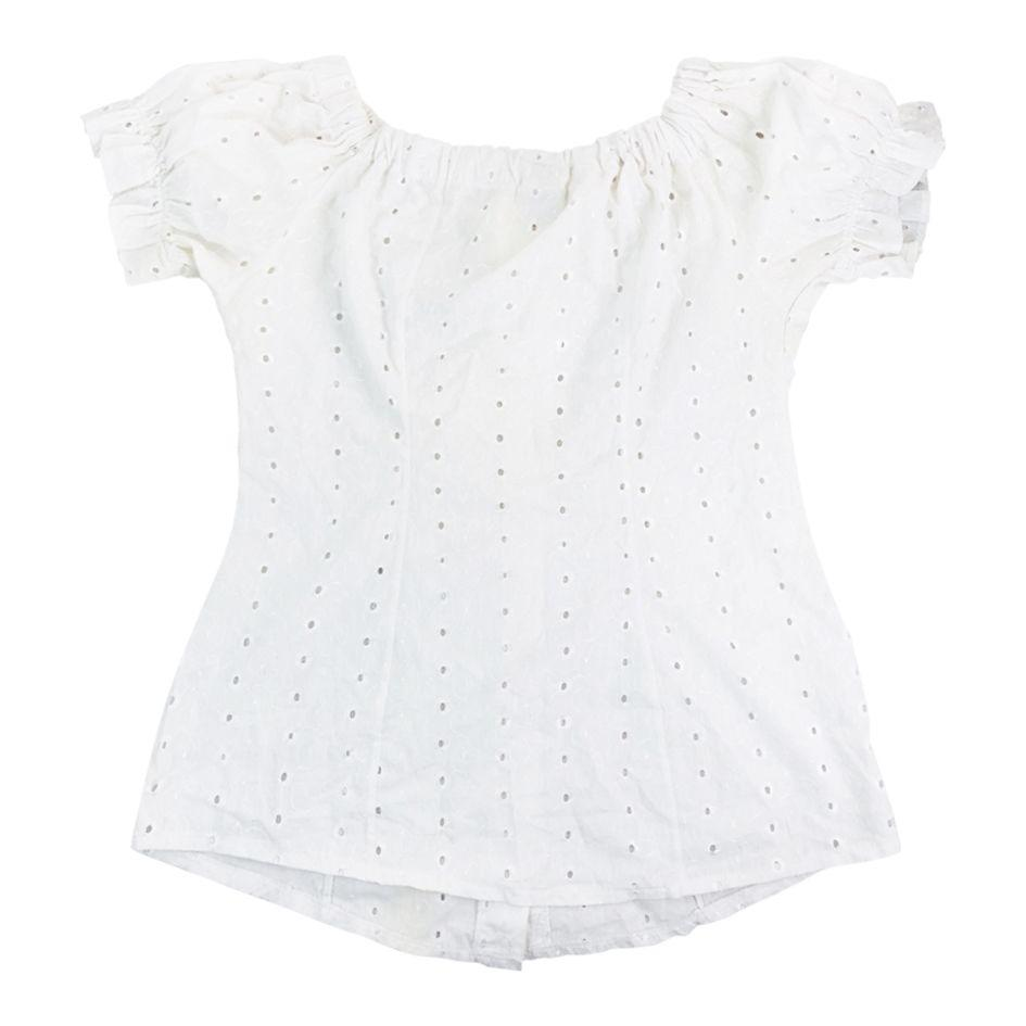 Tops - Top broderie anglaise